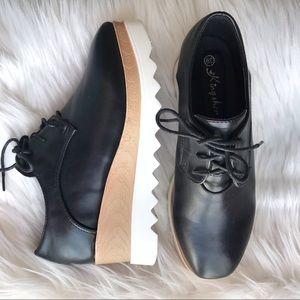 platform lace up shoes ✨